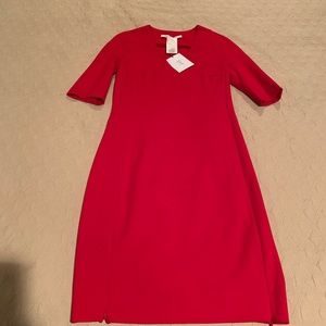 🌸 Super Hot NWT DVF Red Dress Size 8🌼